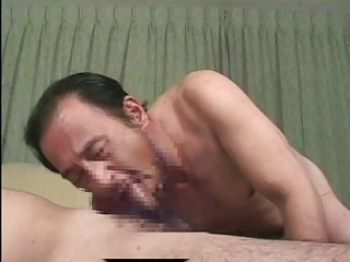 mature oriental gay lads in hot irrumation